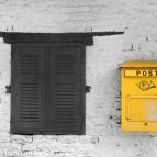 Traditional Postal Mail Box